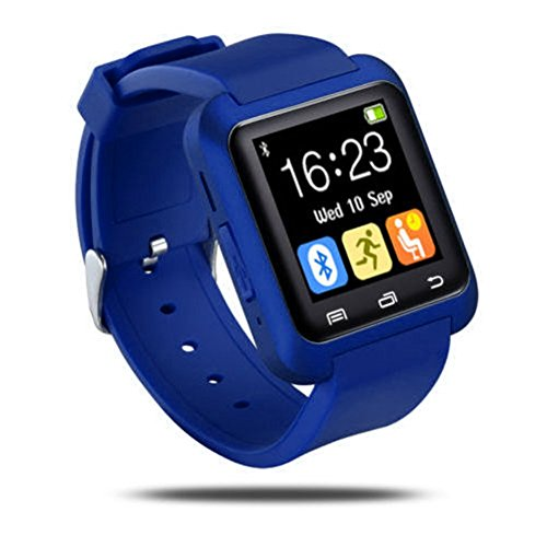 Bluetooth Smart Watch, Sport U8 Smartwatch Wrist Fitness Tracker Bracciale con pedometro Music...