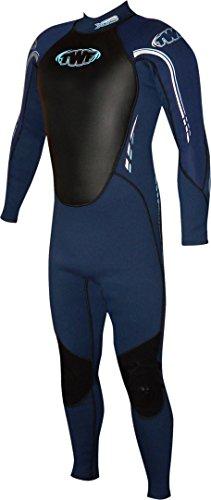 TWF Xt3 Traje de Neopreno Completo para Hombre, Azul (Navy/Navy), LGM