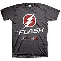 The Flash TV-Series - Camiseta - Manga corta - para hombre gris gris oscuro XX-Large
