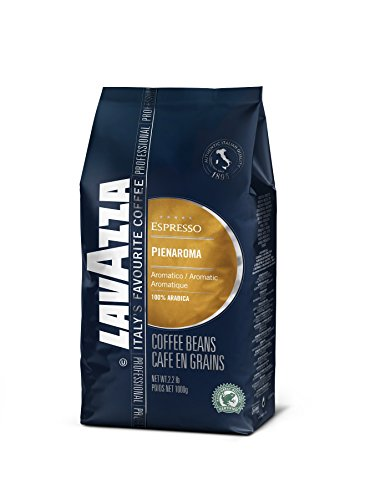 Lavazza Espresso coffee beans (a balanced flavour, chocolate notes, nutty notes coffee with aromas of dried fruit and chocolate, nutty)