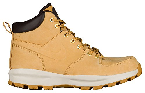 Nike Manoa Leather, Stivali da Escursionismo Uomo, Multicolore (Haystack/Velvet Brown 700), 43 EU