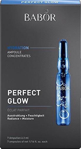 BABOR AMPOULE CONCENTRATES Perfect Glow, Wirkstoffkonzentrat für müde Haut, extra Feuchtigkeit, 7 x 2 ml