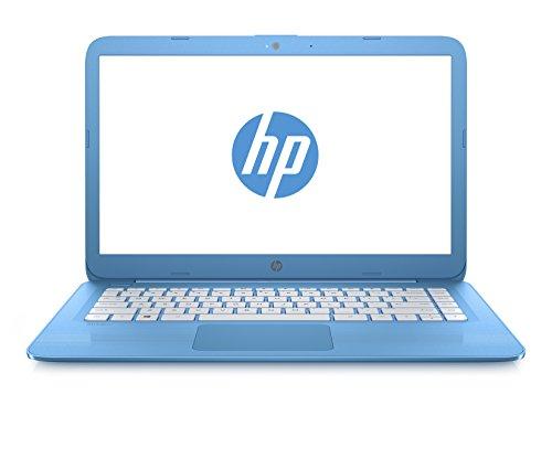 HP Stream 14-ax016nl Notebook, Display da 14', Intel Celeron N3060, eMMC 32 MB, RAM 4 GB, Intel HD...