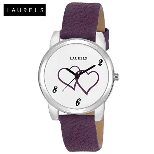 Laurels Lo-feb-102 Analog Silver Dial Women's Watch-Lo-Feb-102