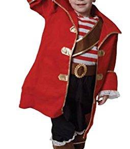 Dress up America Disfraz de Capitán Pirata niños