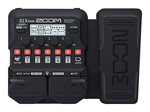 Zoom G1X FOUR Multi Effect Guitar Amp Simulator Pedal Pedal