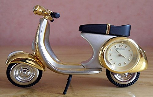 HungOver Poster4U Scooter Clock Vespa Gold Poster Home & office