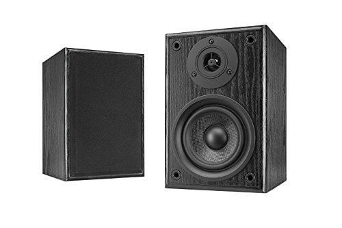 Dual LS 100altoparlante attivo set (ingresso Phono, amplificatore integrato per giradischi,...