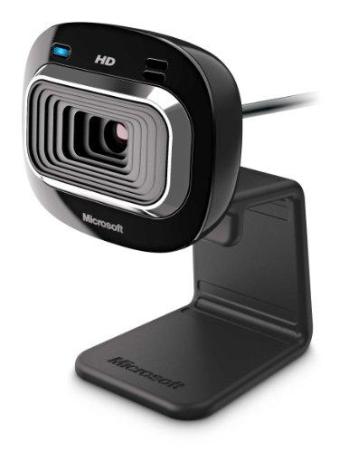 Microsoft LifeCam HD-3000 webcam 1 MP 1280 x 720 Pixel USB 2.0 Nero