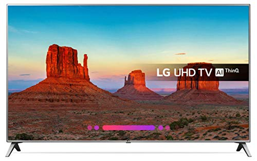 LG 55UK6500 55' LG TV LED 55' Ultra HD Smart TV 4K, Active HDR, Grigio