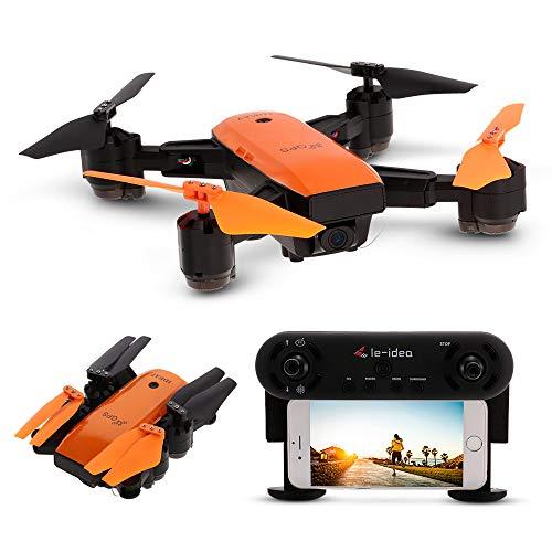 Goolsky IDEA7 RC Drone 720P Telecamera grandangolare Wifi FPV GPS Droni Altitudine Tenere pieghevole Quadcopter RC