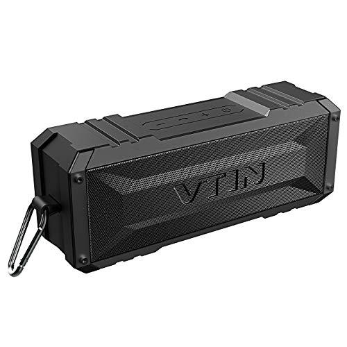 VTIN Punker Altoparlante Bluetooth 20W, 30 Ore di Play, Cassa Bluetooth portatile IPX5 Impermeabile, Crashproof, Altoparlante Senza Fili con Incorporato Microfono e Doppia Cassa