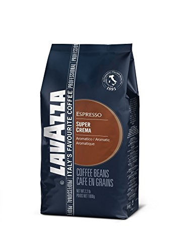 Lavazza Espresso coffee beans (a balanced flavour, nutty notes coffee with aromas of nutty)