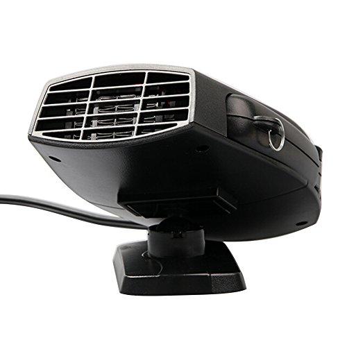 chauffage voiture c ramique ventilateur d givreur portable chauffant 12 v avec allume cigare par. Black Bedroom Furniture Sets. Home Design Ideas