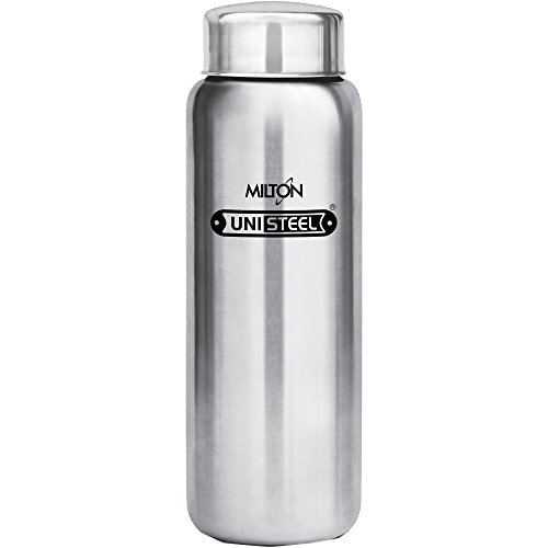Milton Aqua-750 Stainless Steel Water Bottle, 750 ml, Silver