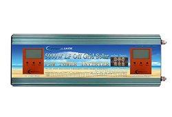 4 IN 1 Convertisseur pur sinus 5000w onduleur 24V à 220V onde sinusoïdale pure power inverter/ UPS/Chargeur de batterie 80A,solaire Charge 50A Prix