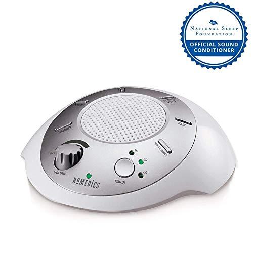 HoMedics SS2000 SoundSpa Portable White Noise Relaxation Speaker (Silver)