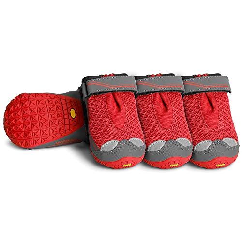 Ruffwear Botas para Perro Bark´n Boots Grip Trex [3 Colores - 8 Tallas]
