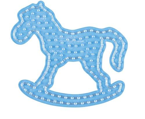 Hama-8221-Hobby creativi-Piastra per Perline da Stiro Maxi-Cavallo a Dondolo