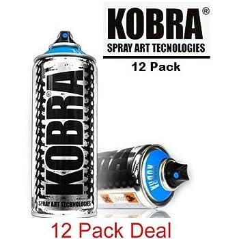 Kobra Aerosol Spray Paint Ml Pack Deal