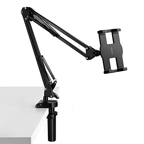 UGREEN Porta Telefono e Tablet, Supporto Tavolo con Braccio Regolabile e Rotazione di 360 Gradi...
