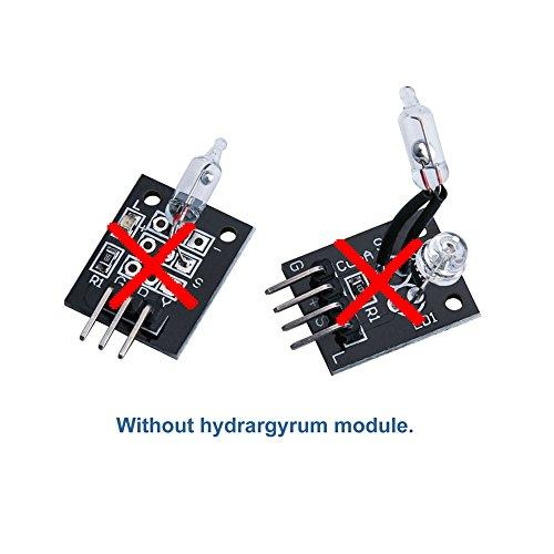 41t1aPp61uL - ELEGOO Actualizado 37-en-1 Kit de Módulos de Sensores con Tutorial Compatible con Arduino UNO R3 Mega 2560 Nano Raspberry