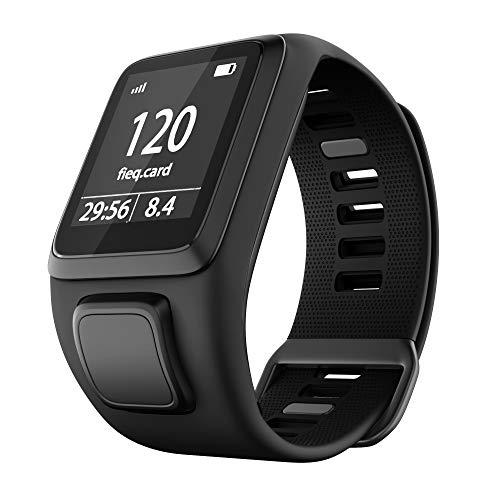 Cobar Watchband for Tomtom Watch, Silicone Impermeabile Traspirante Fitness Cinturini di Ricambio Sostituzione per Tomtom Runner 2/ Runner 3/ Spark/Golfer 2 Sports GPS Running Smartwatch