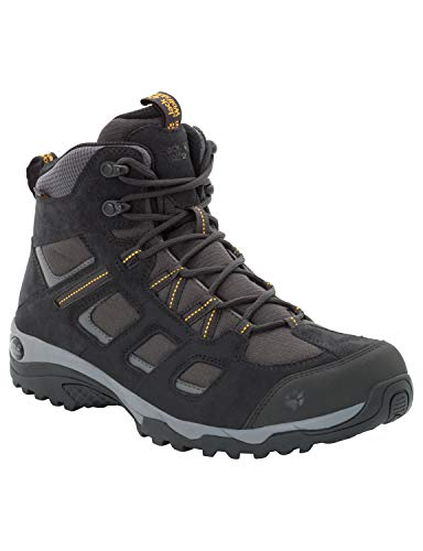 Jack Wolfskin Herren Vojo Hike 2 Texapore MID M Wasserdicht Trekking-& Wanderstiefel, Grau (Phantom 6350), 45.5 EU