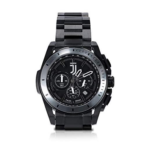 Juventus Orologio Cronografo serie Zebra - Nuovo Logo - 100% Originale - 100% Prodotto Ufficiale - Movimento al quarzo - Impermeabile fino a 5 atm (50 metri)