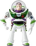 Toy Story 4 Disney Pixar Buzz Lightyear Super Decollo, Ali che si Aprono, Armatura che si Illumina al Buio,da 18 cm, Giocattolo per Bambini di 3+ Anni, GGH41