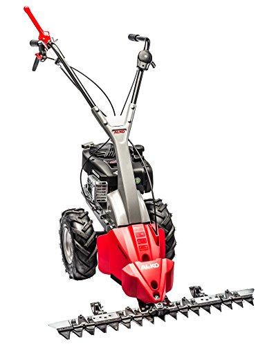 AL-KO Balkenmäher BM 870 III, 87 cm Schnittbreite, 1 Vorwärtsgang, 1.7 kW Motorleistung, für Flächen bis 2000 m², spezialgehärtete Messer, Schnitthöhe verstellbar, optionales Schneeschild