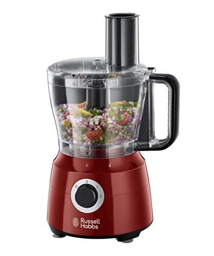 Russell Hobbs Desire Robot da Cucina, 600 W, 1.5 L, 2 Velocita', Rosso