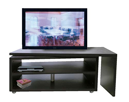 Mobile Porta TV di design girevole 360° Larghezza 118 cm