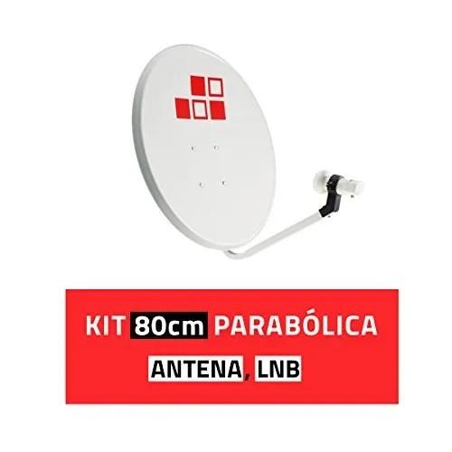 Diesl.com - Kit Parabólica 80cm + LNB