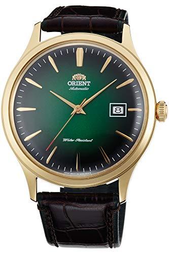 Orient Herren Analog Automatik Uhr mit Leder Armband FAC08002F0