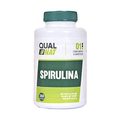 Spirulina Ecológica ✔️ Para Aumentar La Energía y Vitalidad ✔️ 360 Comprimidos