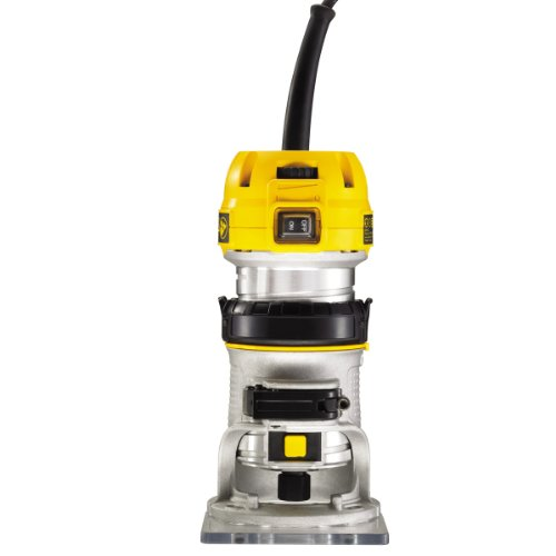 Whether you are a professional wood worker, DIY enthusiast, or a beginner, the DeWalt D26200 1/4in Compact Fixed Base Router is probably the best router as its fits perfectly in your hand and is very easy to use.