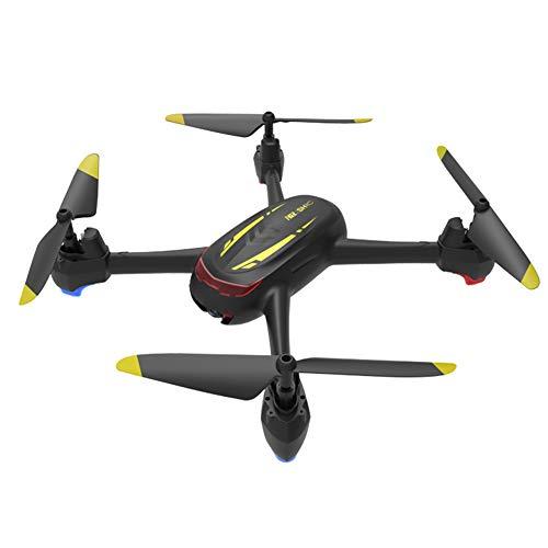 QWER Drone con Telecamera Velivolo per Il Posizionamento del Flusso Ottico UAV 20 Minuti di Autonomia per Il Controllo della Durata della Batteria Trasmissione di Mappe HD 1080,Black