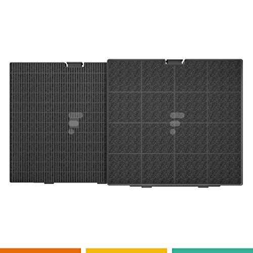 Fac-Filtro a carbone fc25fac FC25-Filtro a carbone 241x 225x 30Compatibile cappa Wpro...