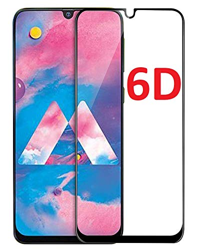ValueActive Screen Guard For Samsung Galaxy M30S / M30 Tempered Glass 6D Full Glue Cover Edge-Edge Anti-Scratch Anti-Fingerprint Tempered Glass for Samsung Galaxy M30S with easy installation kit