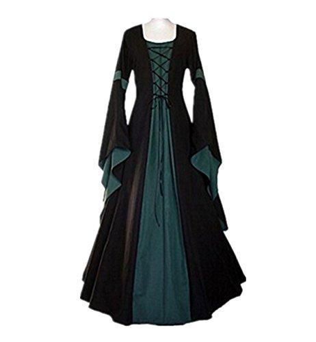 Traje Medieval Disfraz de Princesa Reina Medieval para Mujer Cosplay ... a667b666f93f