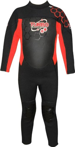 TWF - Neopreno para surf, color rojo, talla UK: 12-13 años