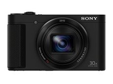 "Sony Cyber-Shot DSC-HX90 - Cámara compacta de 18.2 Mp (pantalla de 3"", zoom óptico 30x, sensor Exmor R,  visor OLED, pantalla para selfies, Wi-fi/NFC), negro"