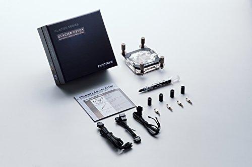 Phanteks Waterblock CPU pour LED RVB Base en cuivre nickelé Acrylique Coque Chrome-Ph-c350a Cr01 29