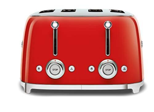 Smeg TSF03RDEU - Tostapane, colore: Rosso