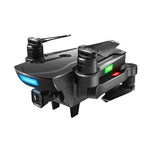 Drone Yesmile GPS con Telecamera 2.4G FPV WiFi HD Camera GPS con Grandangolare-Regolabile Camera HD WiFi FPV Quadricottero Funzione Seguimi, Altitudine Attesa, Controllo di più Lunga Distanza