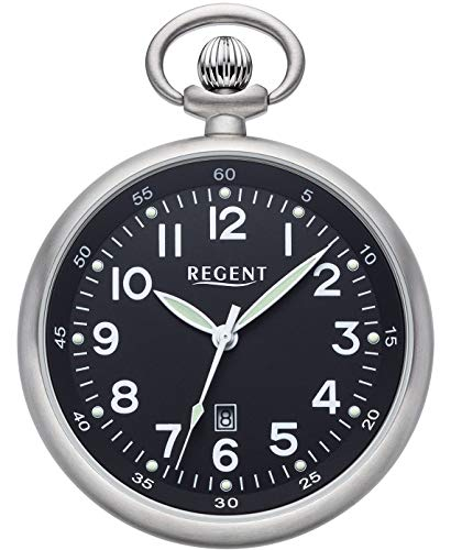 Regent 11280080 - Orologio da taschino, 48 mm