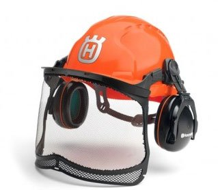 Come rain, come shine, this chainsaw helmet will take it as a result of rain shield and good ventilation.
