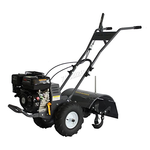 If you need a real workhorse for larger plots then this Maxtra heavy duty tiller could be what your looking for.  Some important points to point out, the heavy duty gearbox has been improved by using 'Axletree' instead of bushing. What these means is that it doubles its liftcycle and provides a consistent transmission of power to tines under varying soil conditions.