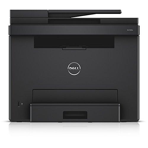 Dell E525w LED-Farblaser-Multifunktionsdrucker (600x600dpi, USB, LAN, WLAN inkl. AirPrint , Fax, Drucken, Scannen, Kopieren)